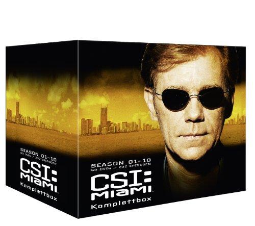 CSI: Miami Komplettbox (60 DVDs)