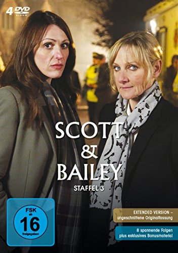 Scott & Bailey Staffel 3 (4 DVDs)