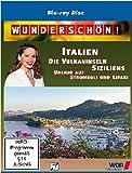 Wunderschön! - Die Vulkaninseln Siziliens: Urlaub auf Stromboli und Lipari [Blu-ray]