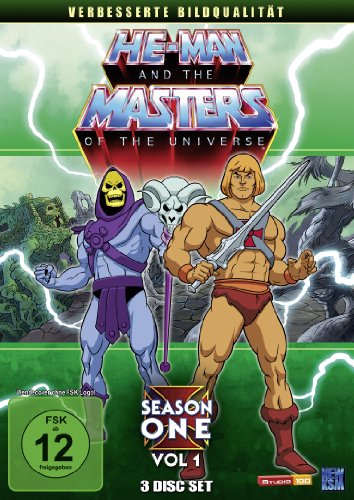 He-Man and the Masters of the Universe Season 1, Vol. 1 (3 DVDs)