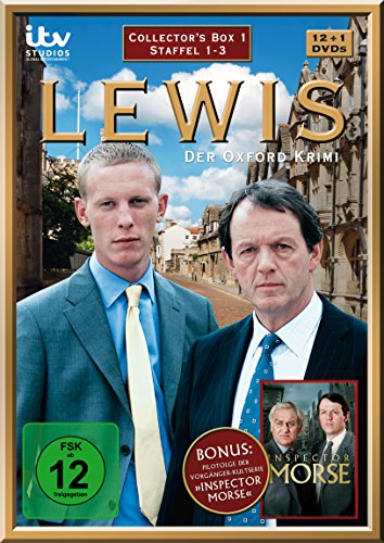 Lewis - Der Oxford Krimi Collector's Box 1 (Staffel 1-3) (13 DVDs)