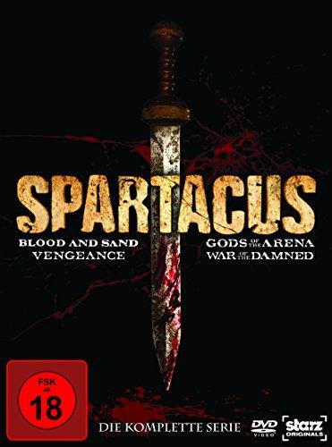 Spartacus Complete Box (16 DVDs)