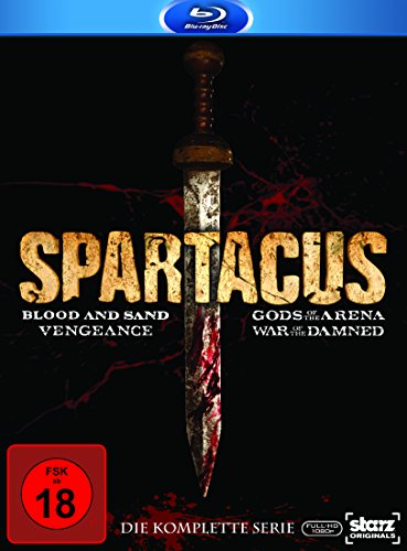 Spartacus Complete Box [Blu-ray]