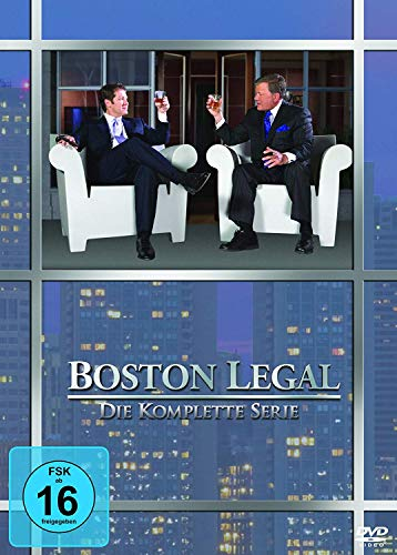 Boston Legal Die komplette Serie (27 DVDs)