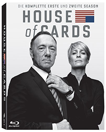 House of Cards Staffel 1 & 2 [Blu-ray]