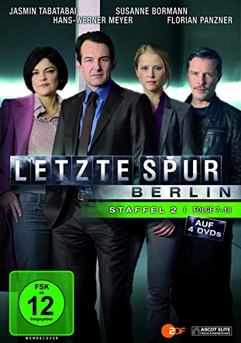 Letzte Spur Berlin Staffel 2, Folge 7-18 (4 DVDs)