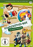 Kinderspaß-Box - Die größten Abenteuer (Pinocchio (1984)/Au Schwarte/Alice im Wunderland (2004)) (3 DVDs)