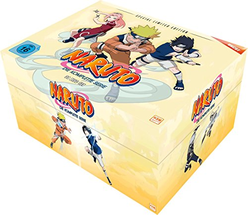 Naruto Gesamt-Box (Special Limited Edition) (34 DVDs)