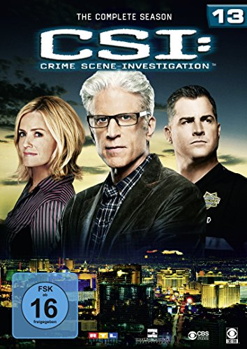 CSI Season 13 (6 DVDs)