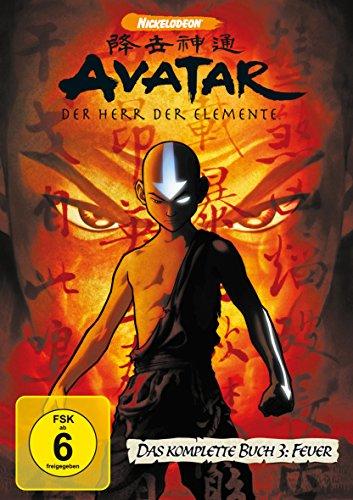 Avatar - Der Herr der Elemente Buch 3: Feuer - Box (4 DVDs)