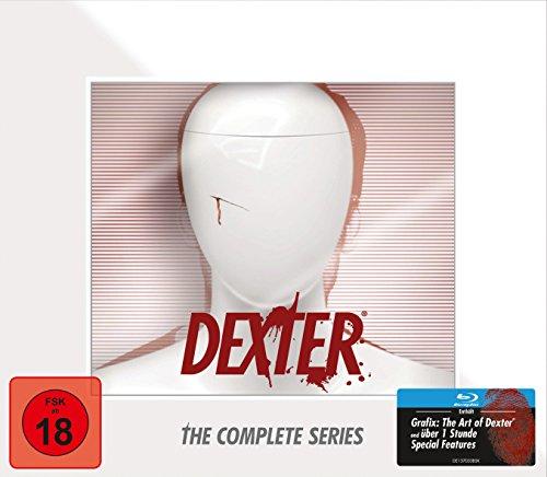 Dexter Die komplette Serie in Dexter-Büste [Blu-ray]