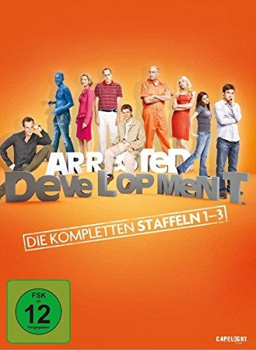 Arrested Development Staffel 1-3 (8 DVDs)
