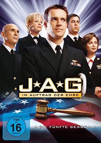 JAG Im Auftrag der Ehre - Season  5 (6 DVDs)