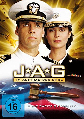 JAG Im Auftrag der Ehre - Season  2 (4 DVDs)