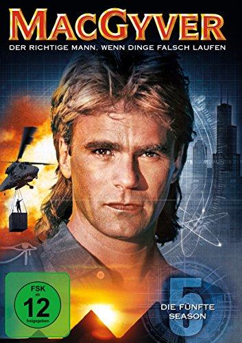 MacGyver Staffel 5 (6 DVDs)