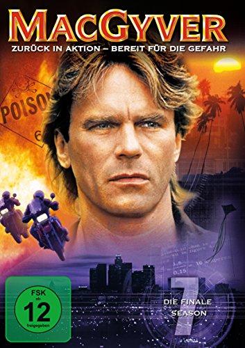 MacGyver Staffel 7 (4 DVDs)