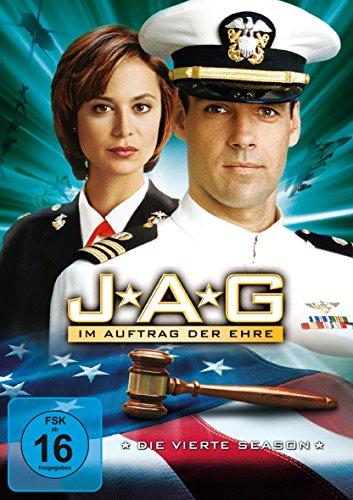 JAG Im Auftrag der Ehre - Season  4 (6 DVDs)