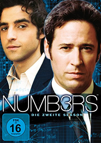 Numbers Season 2 (6 DVDs)