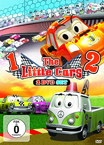 The Little Cars 1 & 2 (2 DVDs)