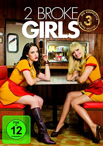 2 Broke Girls Staffel 3 (3 DVDs)
