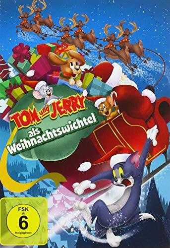 Tom und Jerry als Weihnachtswichtel