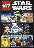 LEGO Star Wars - Die Padawan Bedrohung / Das Imperium schlägt ins Aus / Die Yoda Chroniken (3 DVDs)