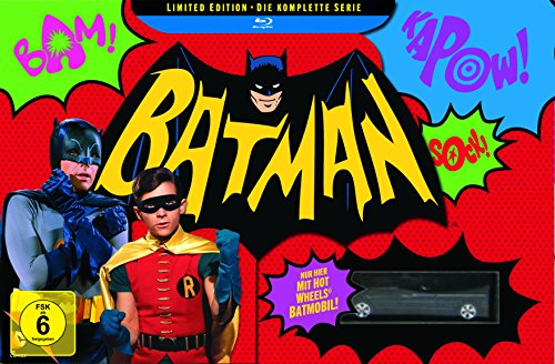 Batman Collection (1968) - Die komplette Serie + Batmobil  [Blu-ray]
