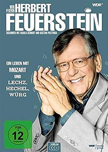 Wir feiern Herbert Feuerstein - Ein Leben mit Mozart und Lechz, Hechel, Würg (3 DVDs)