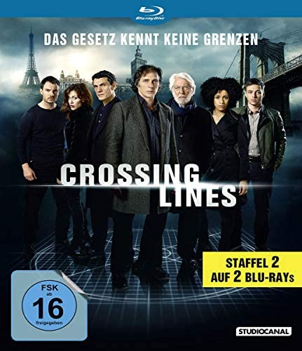 Crossing Lines Staffel 2 [Blu-ray]