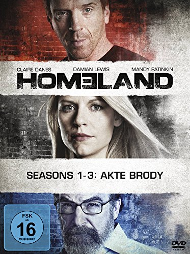 Homeland Seasons 1-3 (12 DVDs)