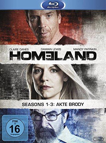 Homeland Seasons 1-3 [Blu-ray]