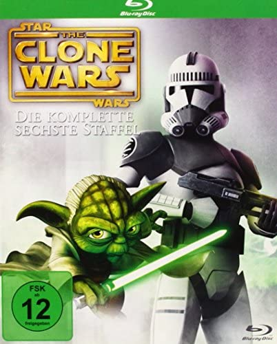Star Wars - The Clone Wars: Staffel 6 [Blu-ray]