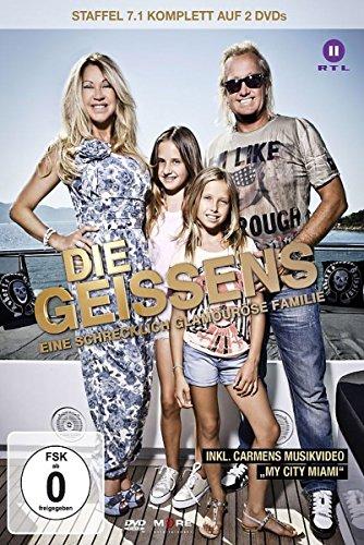 Die Geissens - Eine schrecklich glamouröse Familie: Staffel  7, Teil 1 (2 DVDs)