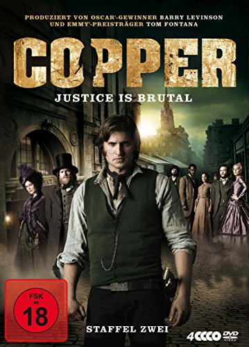 Copper - Justice is Brutal: Staffel 2 (4 DVDs)