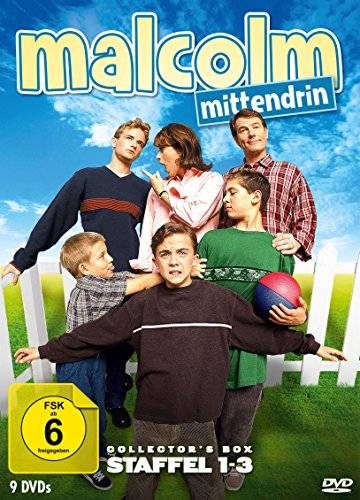 Malcolm mittendrin Staffel 1-3 (Collector's Box) (9 DVDs)