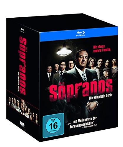 Sopranos Die komplette Serie (inkl. Flachmann) [Blu-ray]