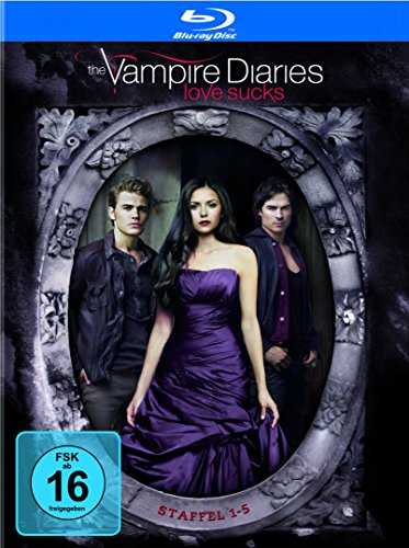 The Vampire Diaries Staffel 1-5 (Limited Edition) (exklusiv bei Amazon.de) [Blu-ray]