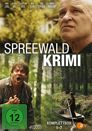 Spreewaldkrimis - Komplettbox - Folge 1-7 (4 DVDs)