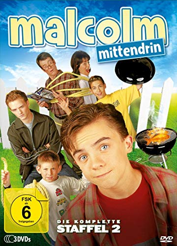 Malcolm mittendrin Staffel 2 (3 DVDs)