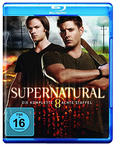 Supernatural Staffel  8 [Blu-ray]