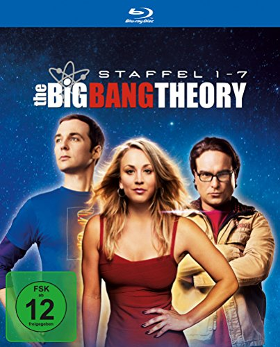 The Big Bang Theory Staffel  1-7 (Limited Edition) [Blu-ray]