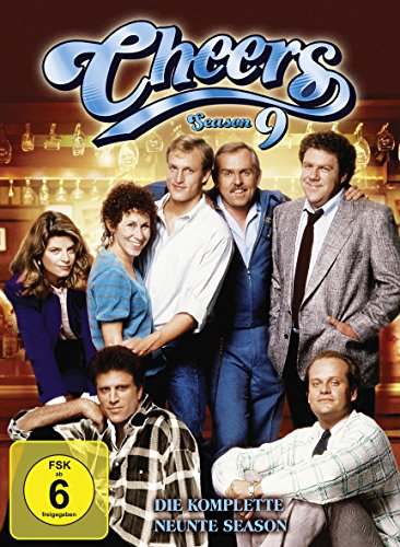 Cheers Season  9 (4 DVDs)