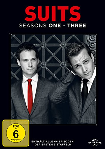 Suits Staffel 1-3 (Limited Edition) (11 DVDs)
