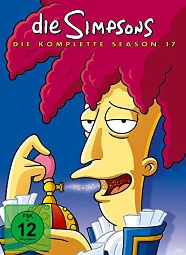 Die Simpsons Season 17 (4 DVDs)