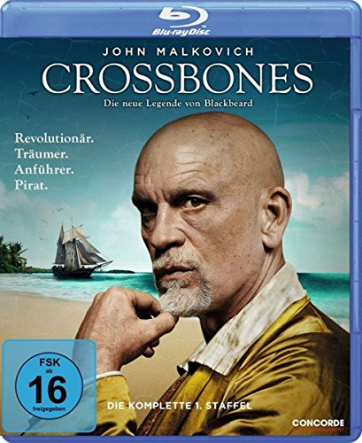 Crossbones Staffel 1 [Blu-ray]