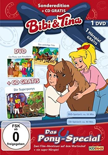 Bibi und Tina Pony-Special  (+ Hörspiel-CD) (2 DVDs)