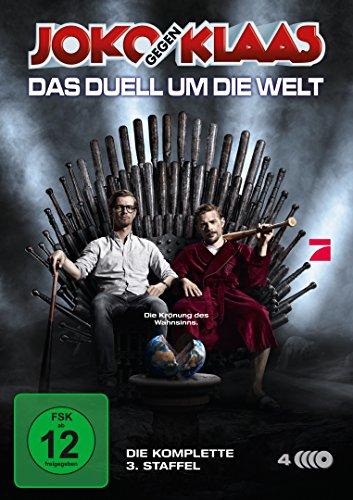 Joko gegen Klaas - Das Duell um die Welt: Staffel 3 (4 DVDs)
