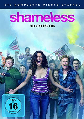 Shameless Staffel 4 (4 DVDs)