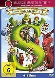 Shrek - Die komplette Geschichte, Teil 1-4 (4 DVDs)