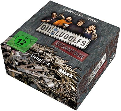 Die Ludolfs - 4 Brüder auf'm Schrottplatz: Gesamtbox (26 DVDs)